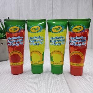 Crayola Bathtub Fingerpaint Soap 4PK